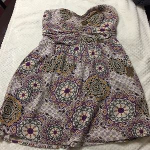 Band Of Gypsies Floral Dress (size L)(X1)